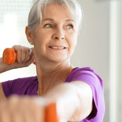 New Study Shows Seniors Stay Slim With Weights Over Walking