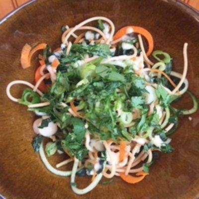 Lentil Noodle Salad