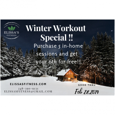 Winter Special for New Clients!!
