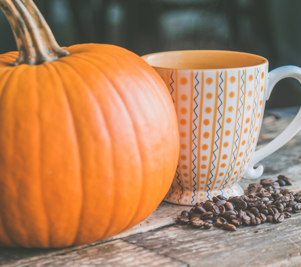 Pumpkin Spice with essential oils for your diffuser and latte